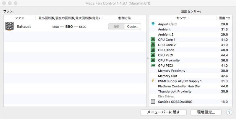 macs fan control4